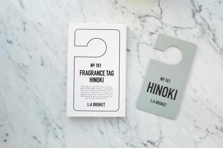 181 - Fragrance Tag Hinoki