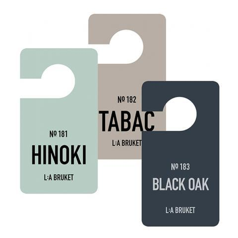 183 - Fragrance Tag Black Oak