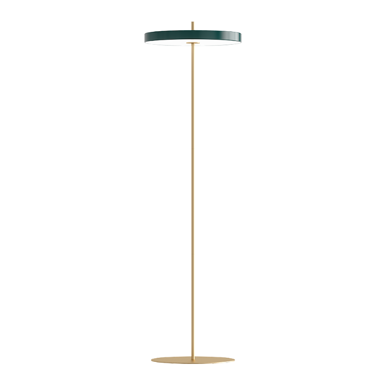 Asteria Floor Lamp - Forest Green