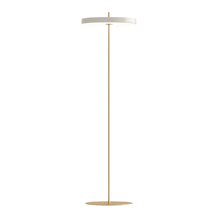 Asteria Floor Lamp - Pearl White