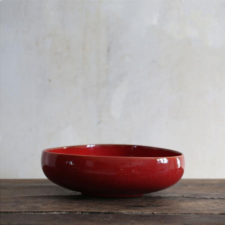 BOWL no. 10 - Oxblood red