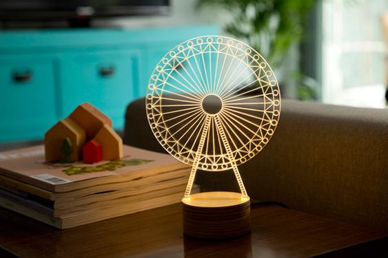 Bulbing Carousel LED Lamp
