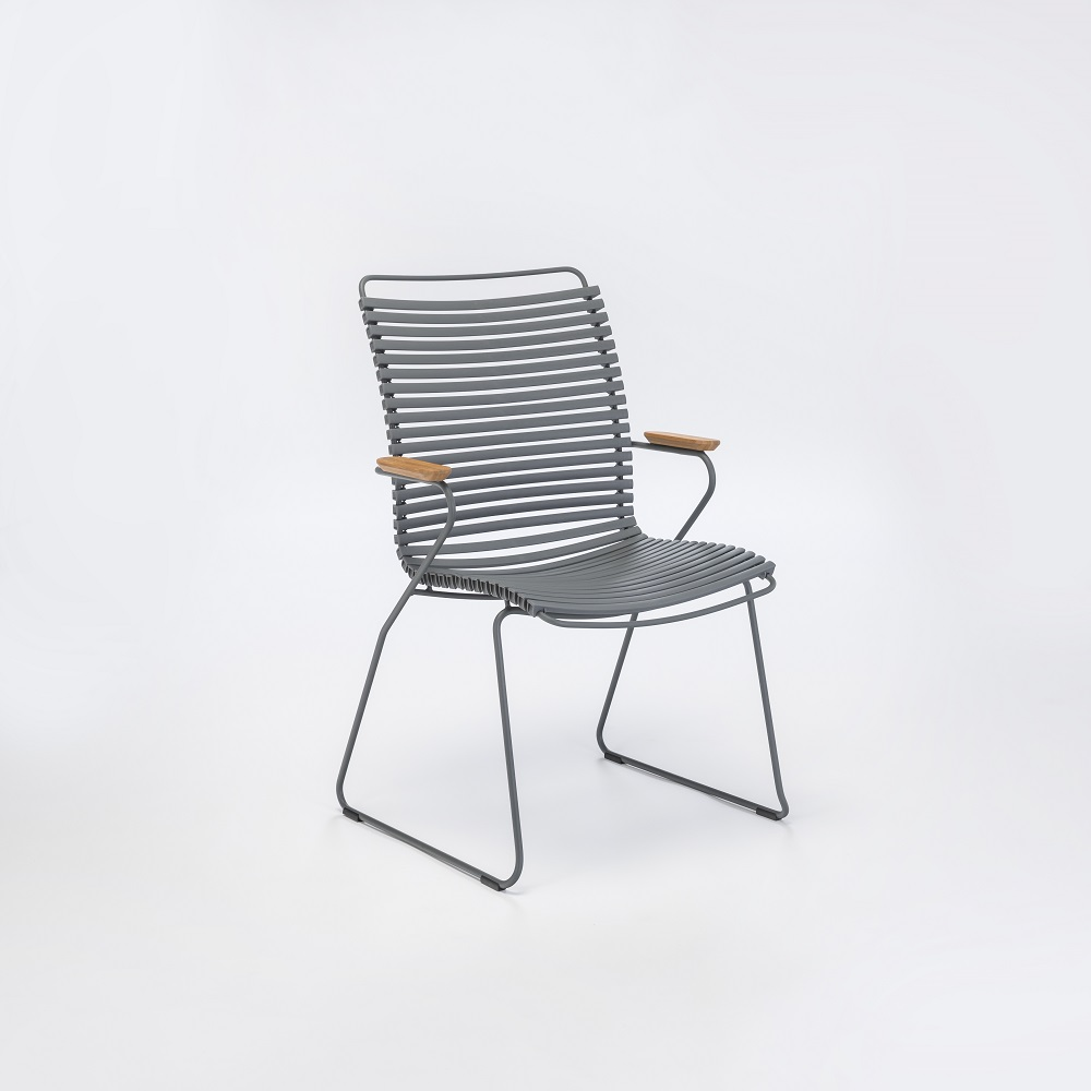Click - Dining Chair Tall with Armrests - 8