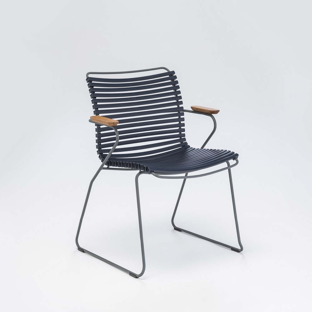 Click - Dining Chair with Armrests - 2