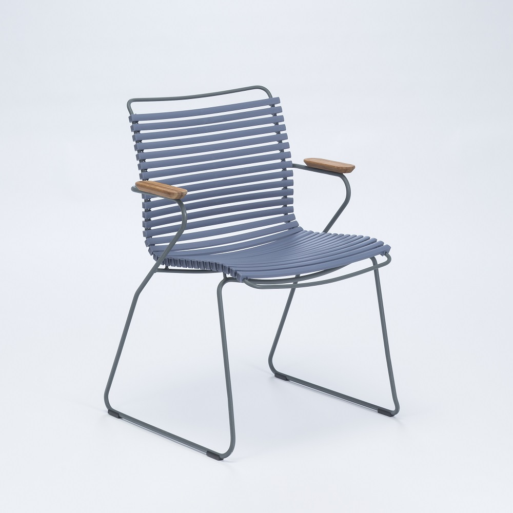 Click - Dining Chair with Armrests - 3