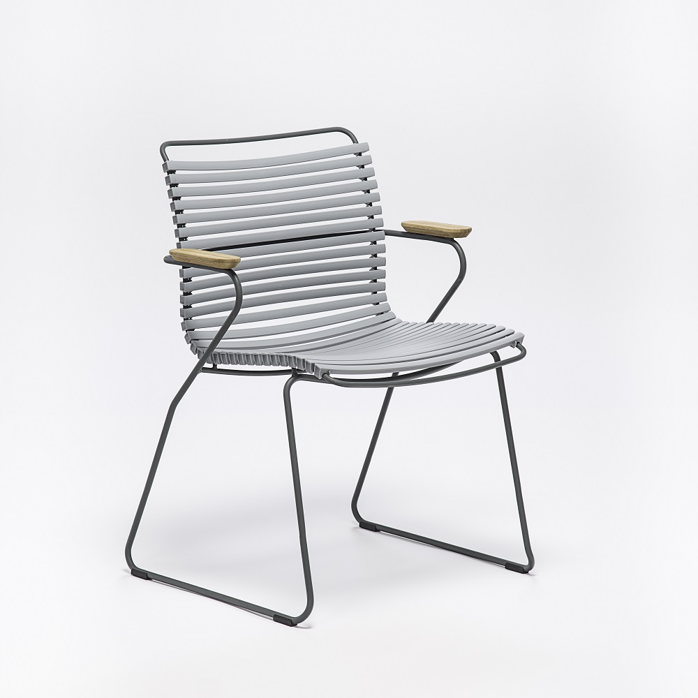 Click - Dining Chair with Armrests - 5