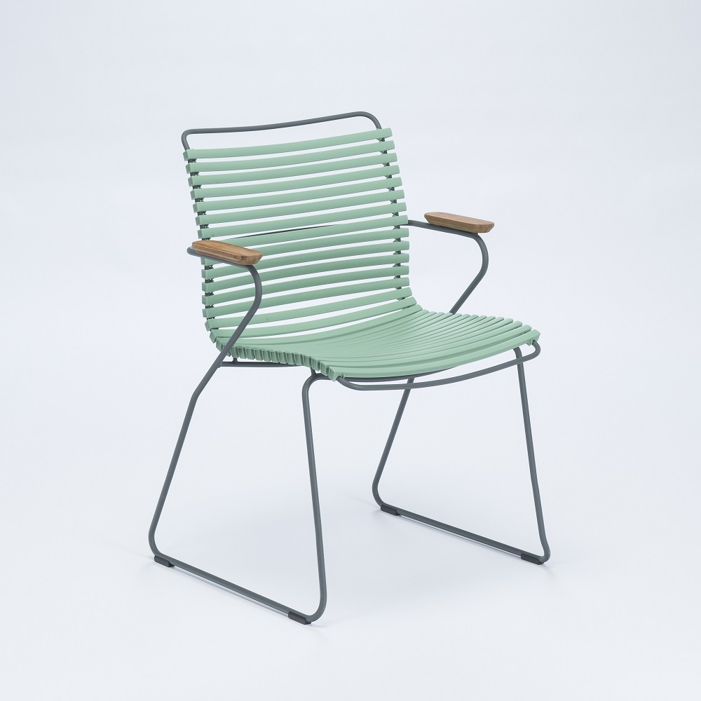 Click - Dining Chair with Armrests - 14