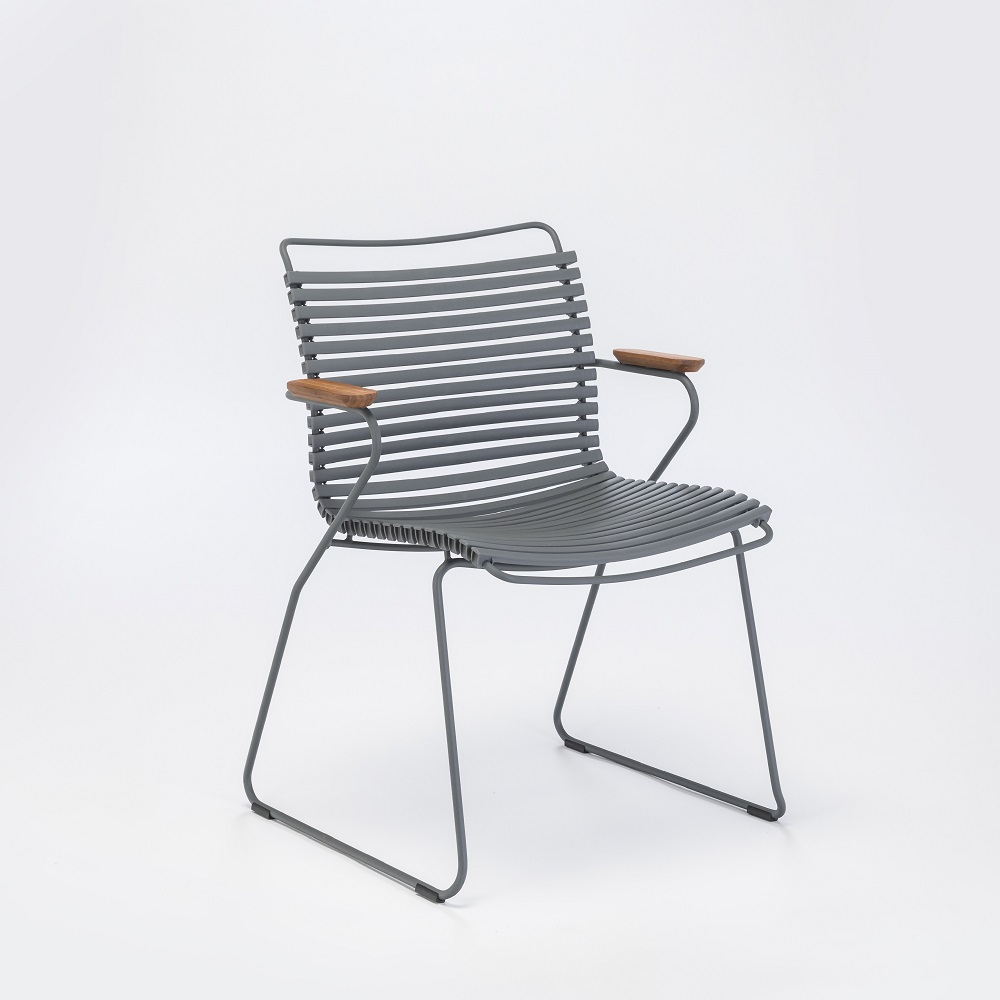 Click - Dining Chair with Armrests - 1