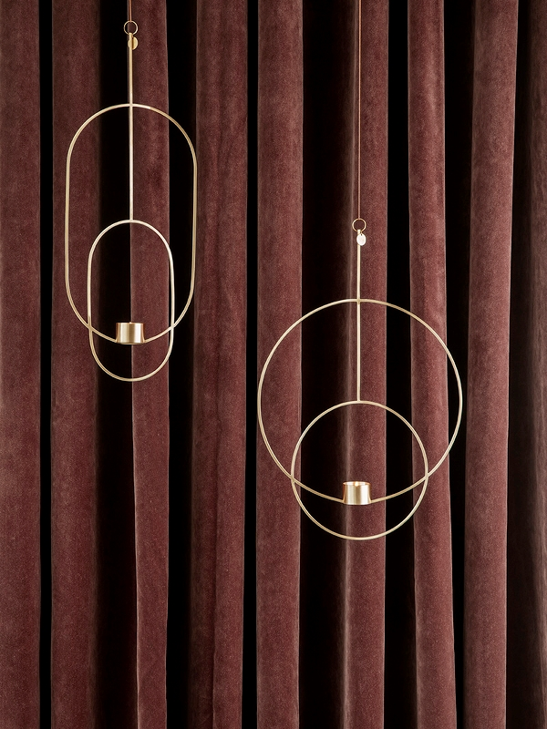 Hanging Tealight - Oval - 0