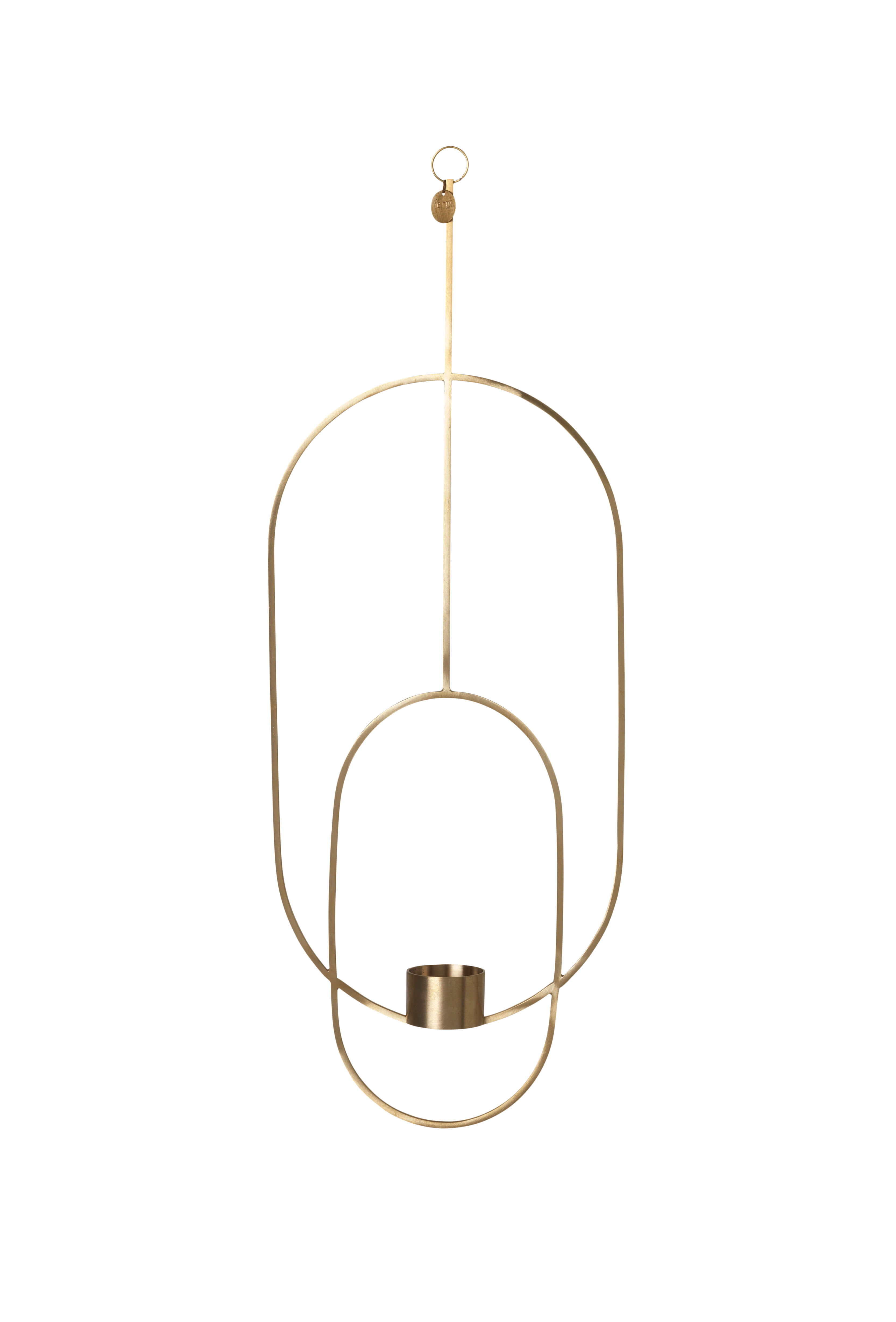 Hanging Tealight - Oval