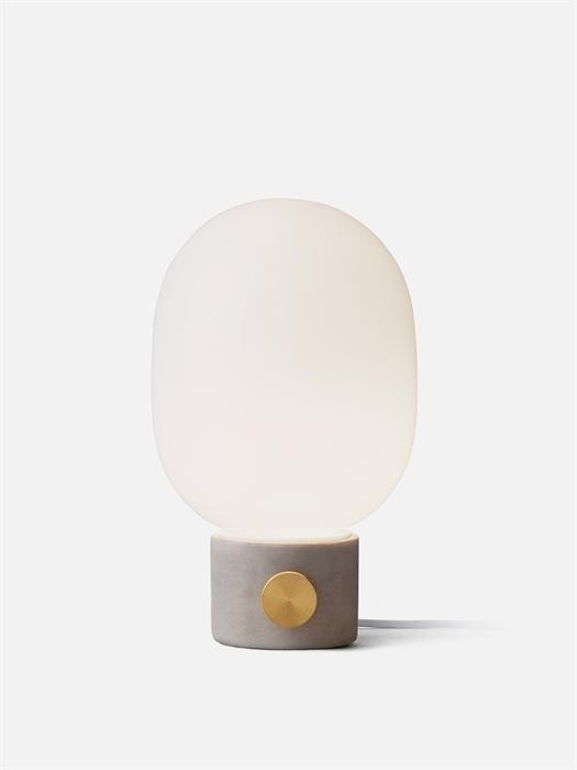 JWDA Concrete Lamp, Light Grey Brass