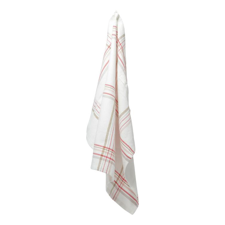 Kitchen Towel - Floral Check