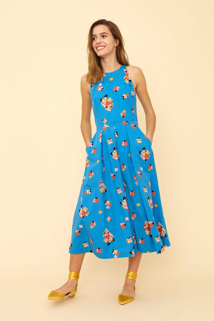 Midikleid `Alyssa` - Sweet Sommer Blooms