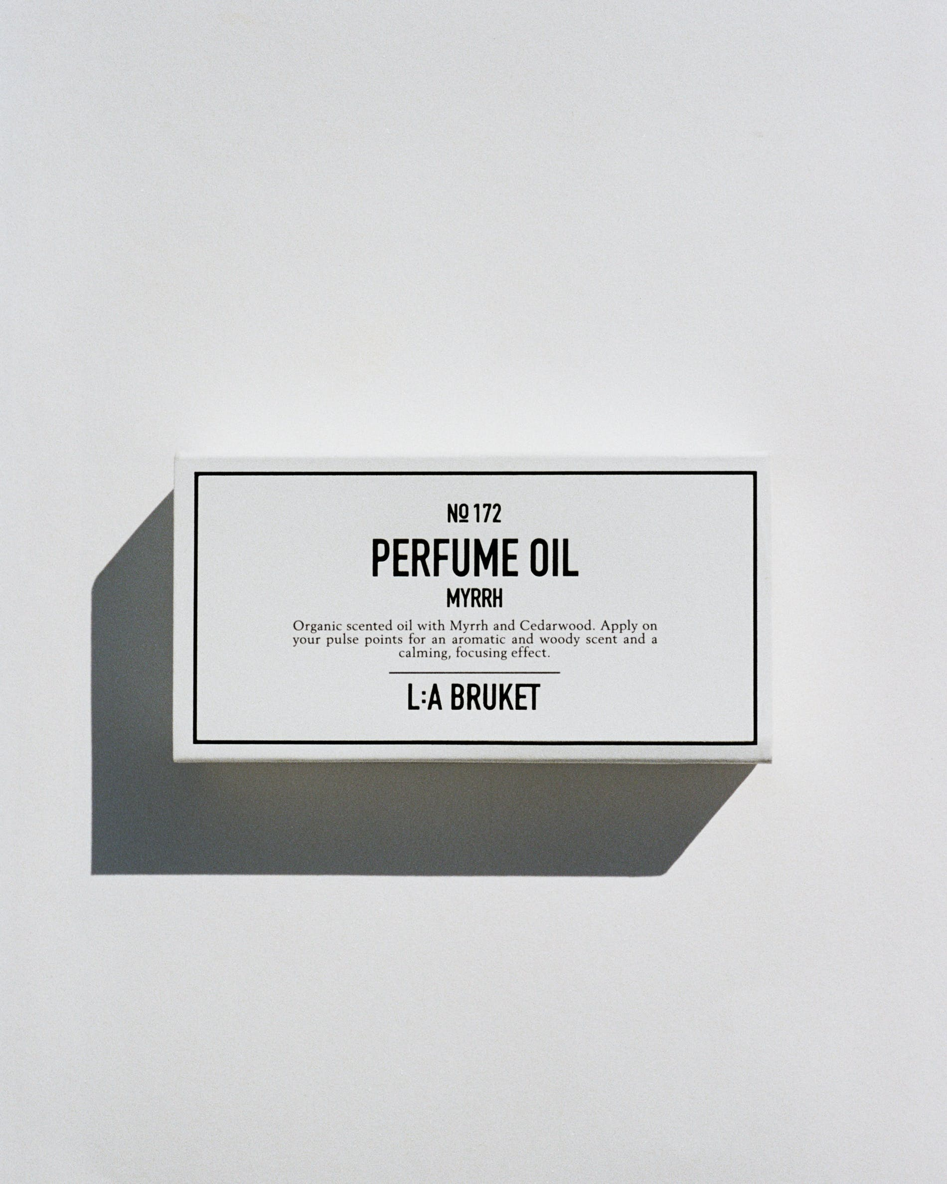 No.172 Perfume Oil Myrrh 10 ml - 0
