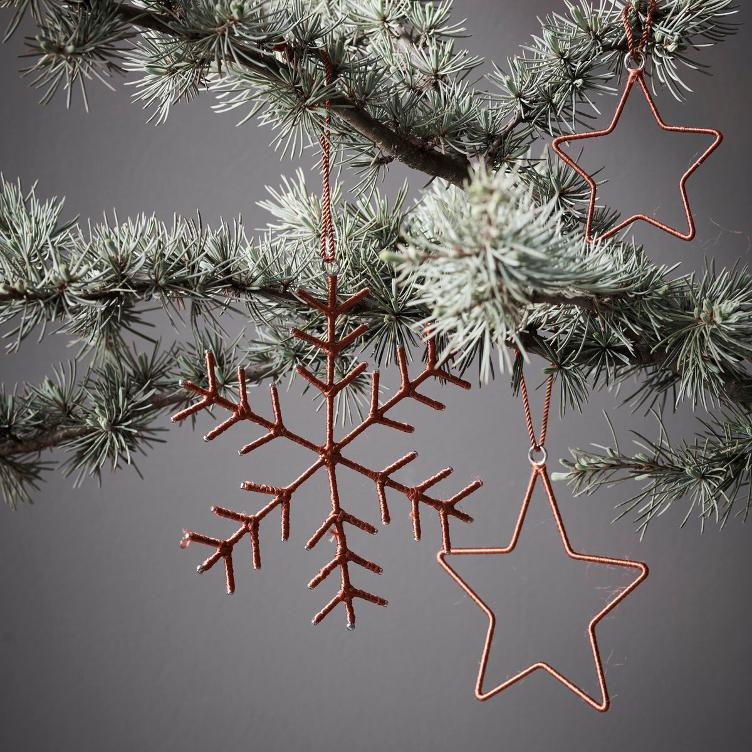 Ornaments - Snowflakes & Stars