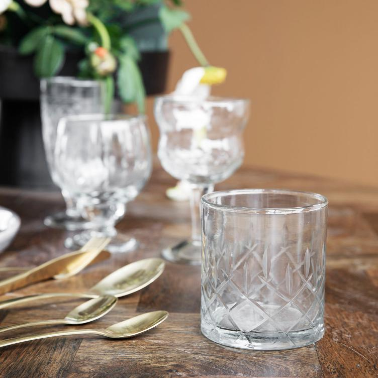 Whiskyglas - Vintage - 2-Set